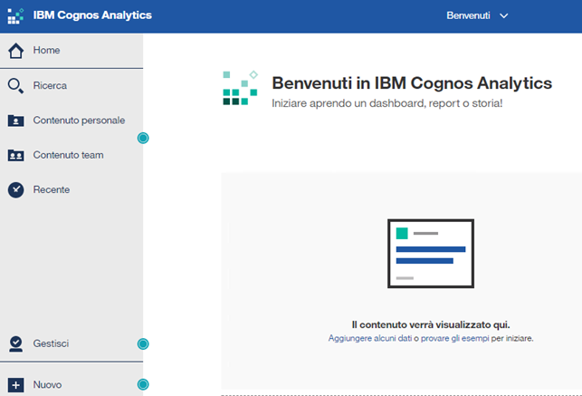 ELMI - IBM Cognos Analytics