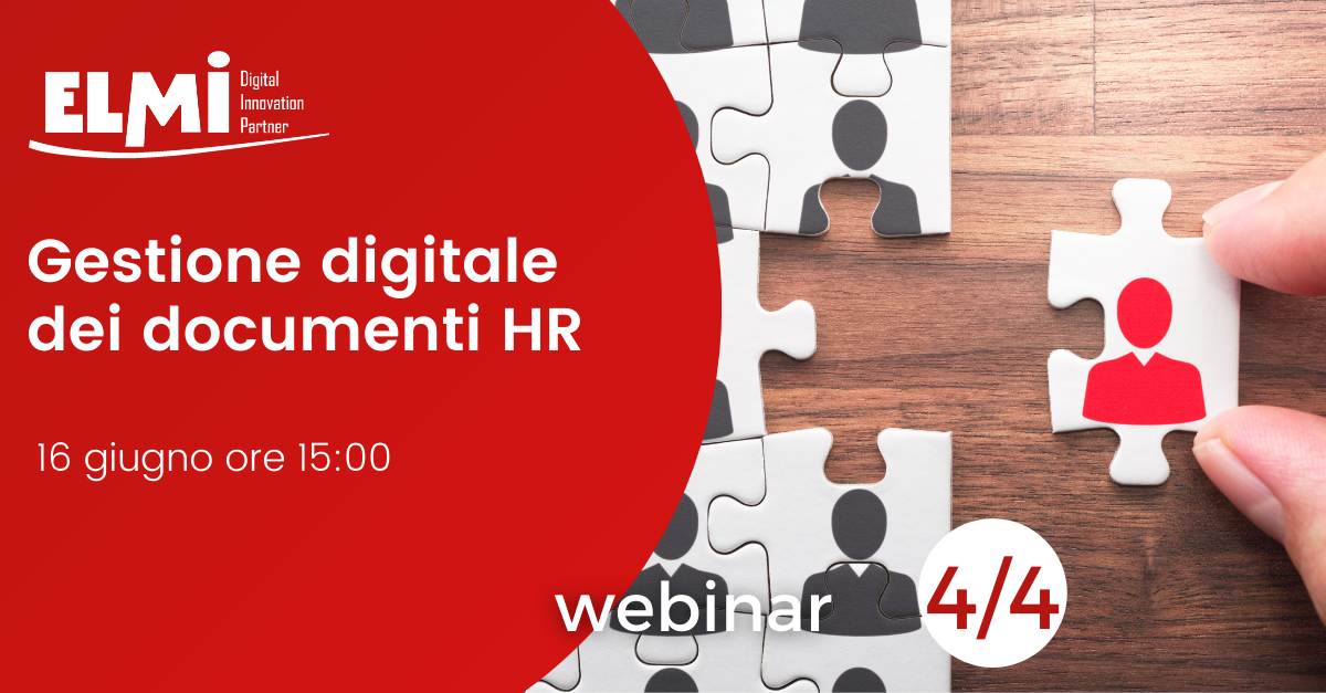 Webinar - La gestione digitale dei documenti HR