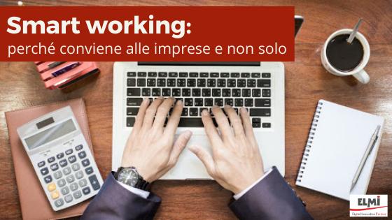 Smart working: perché conviene alle imprese